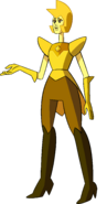 Yellow Diamond (Dawn Palette) by RylerGamerDBS