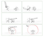 Crack the whip storyboard2
