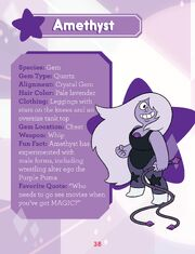 Guide to the Crystal Gems - Amethyst