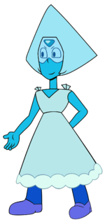 Peridot Wedding Blue