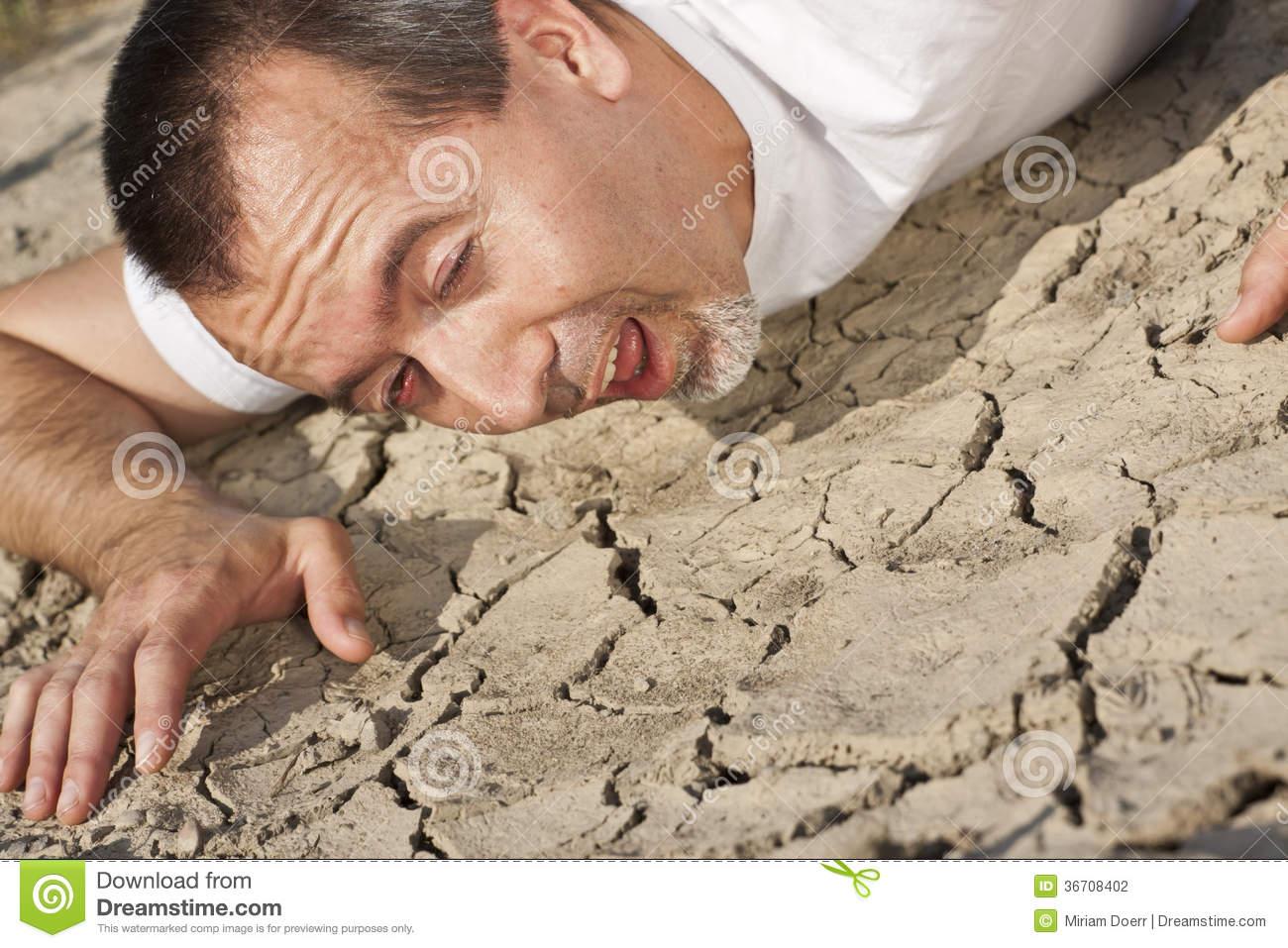 image thirsty man desert looking water 36708402 jpg steven
