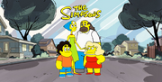 Steven Universe, The Simpsons