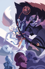 Steven Universe Fusion Frenzy Cover A