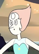 Laser Light Cannon Pearl's tiny face