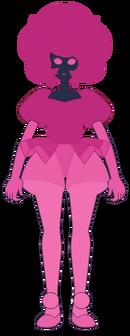 Розовый Алмаз простой дизайн от ГЮГ-о