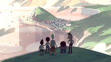 Lars and the cool kids hill scene