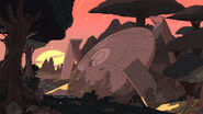 Friend Ship background Homeworld ship sunset