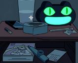 Kedi Kurabiye Alarm Saati-0