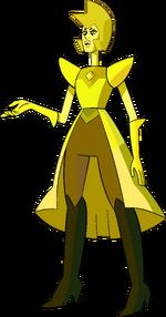 Yellow Diamond (Modelsheet Skirt) by RylerGamerDBS