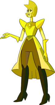Yellow Diamond (Modelsheet Skirt) by RylerGamerDBS