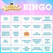 SU Final Bingo Card