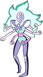 Alexandrite Palette Illuminated By Opal's Bow