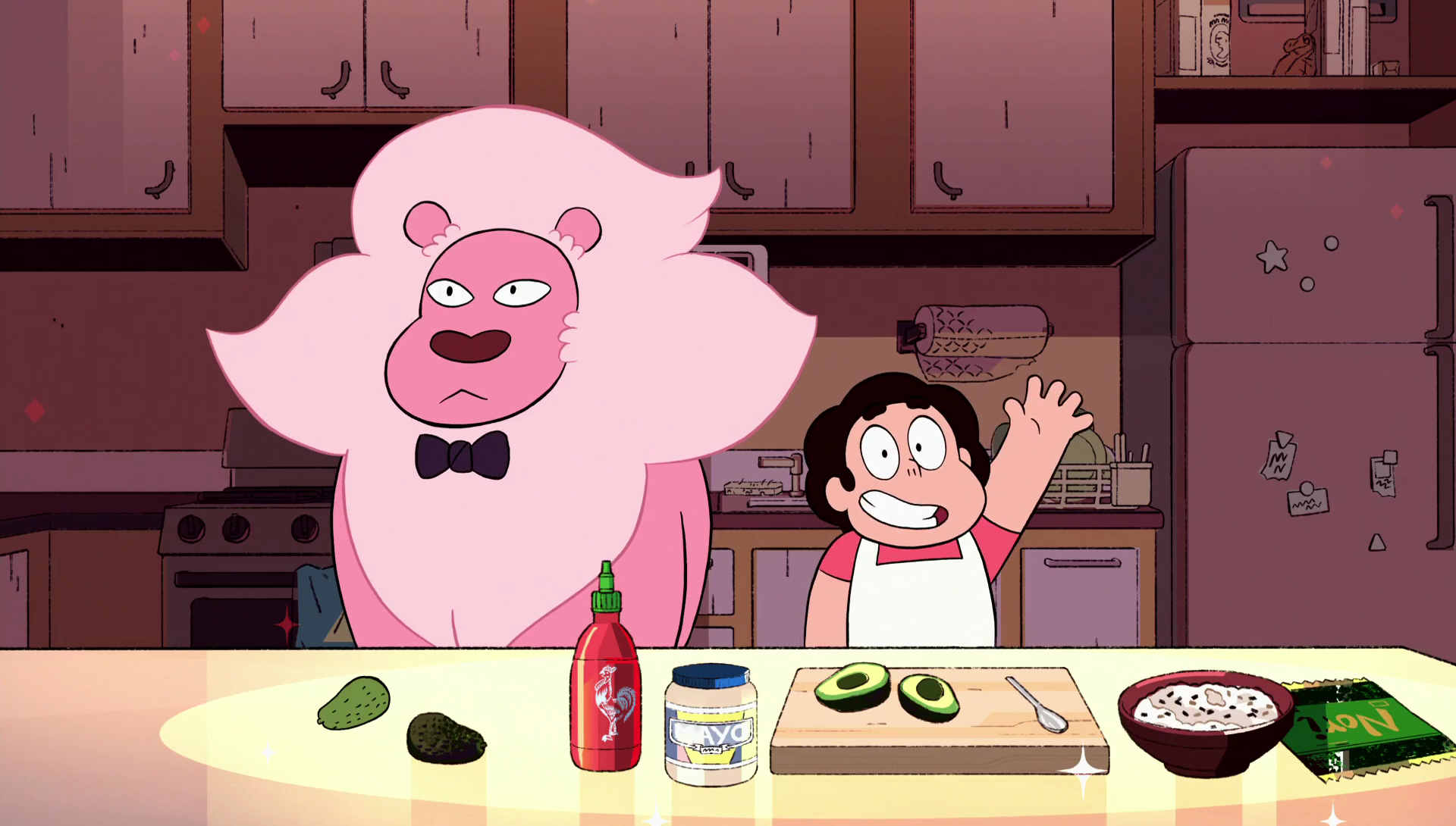 Ilot Central Ikea Occasion ~ Cooking With Lion Steven Universe Wiki Fandom Powered By Wikia
