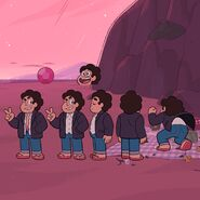 Together Forever Steven Model Sheet