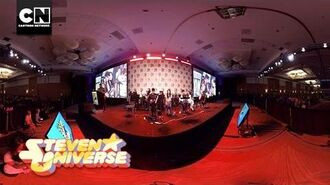 360 Video Here Comes A Thought Steven Universe Cartoon Network