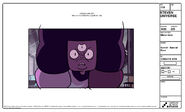 Garnet Angry Model Sheet