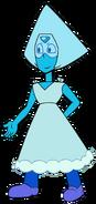 Peridot Blue Aura
