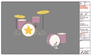 Drumset Model Sheet