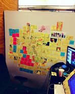 NR's Doodle Wall