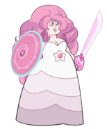 Rose Quartz Pregnant