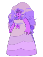 Amethyst as Rose Quartz