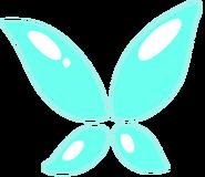 Aquamarines wings by Gekapy