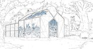 Colorless Peridots Botanic Garden by Alex Myung