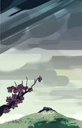 Steven the Swordfighter Rip Tree Background