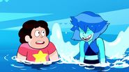 Room For Ruby - Lapis Lazuli tries to fly next to Steven 2