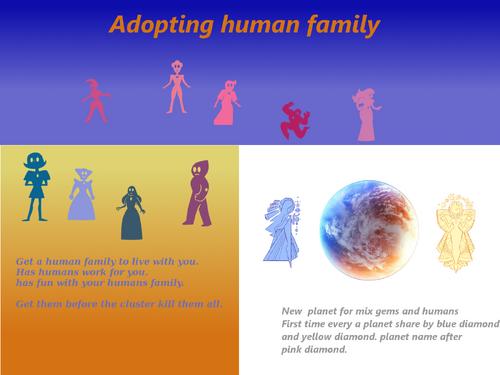 Adopting human family