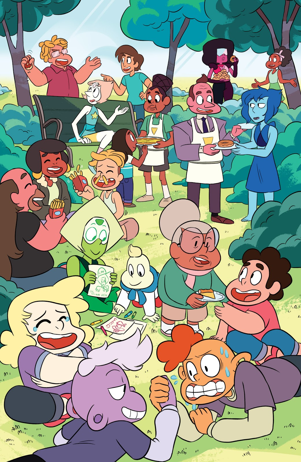 The Corrupted Gem in the Official Steven Universe Comic