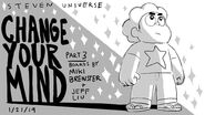 Change Your Mind promo art by Jeff Liu