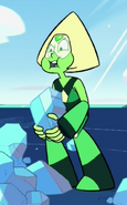 Peridot Trying To Get Strong In The Real Way