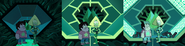 When It Rains - Steven and Peridot palettes (Prime Kindergarten Control Room)