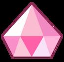 Pink diamond gem by Gekapy