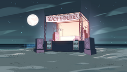 Beach-A-Palooza Background