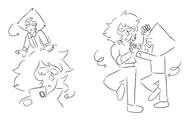 Peri and Lapis dancing2 Laurenz