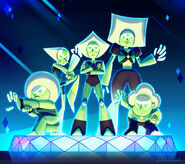 Steven universe peridot and the peridots by dou hong-d8qvvnf