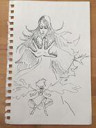 Blue Diamond vs Lapis Sketch