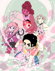 Steven universe steven fusions by rice lily-d7m17eh