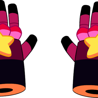 Garnet's post-regeneration gauntlets