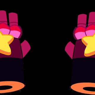 Garnet's post-regeneration gauntlets