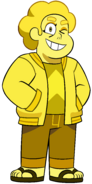 Yellow Diamond Shapeshifted Into Teen Steven Universe