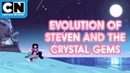 Evolution of Steven and the Crystal Gems Steven Universe Cartoon Network