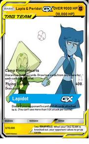 Lapis & Peridot GX tag team