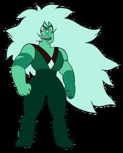 Jasper-Malachite