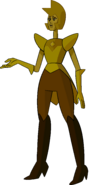 Yellow Diamond (Desert Shadow Palette) by RylerGamerDBS