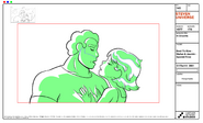 Bout To Kiss - Stefan & Jasmin - Special Pose Model Sheet