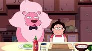 Steven Universe Cooking with Lion How to Make Snack Sushi! Cartoon Network