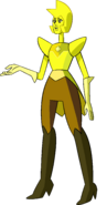 Yellow Diamond (Reunited Palette) by RylerGamerDBS